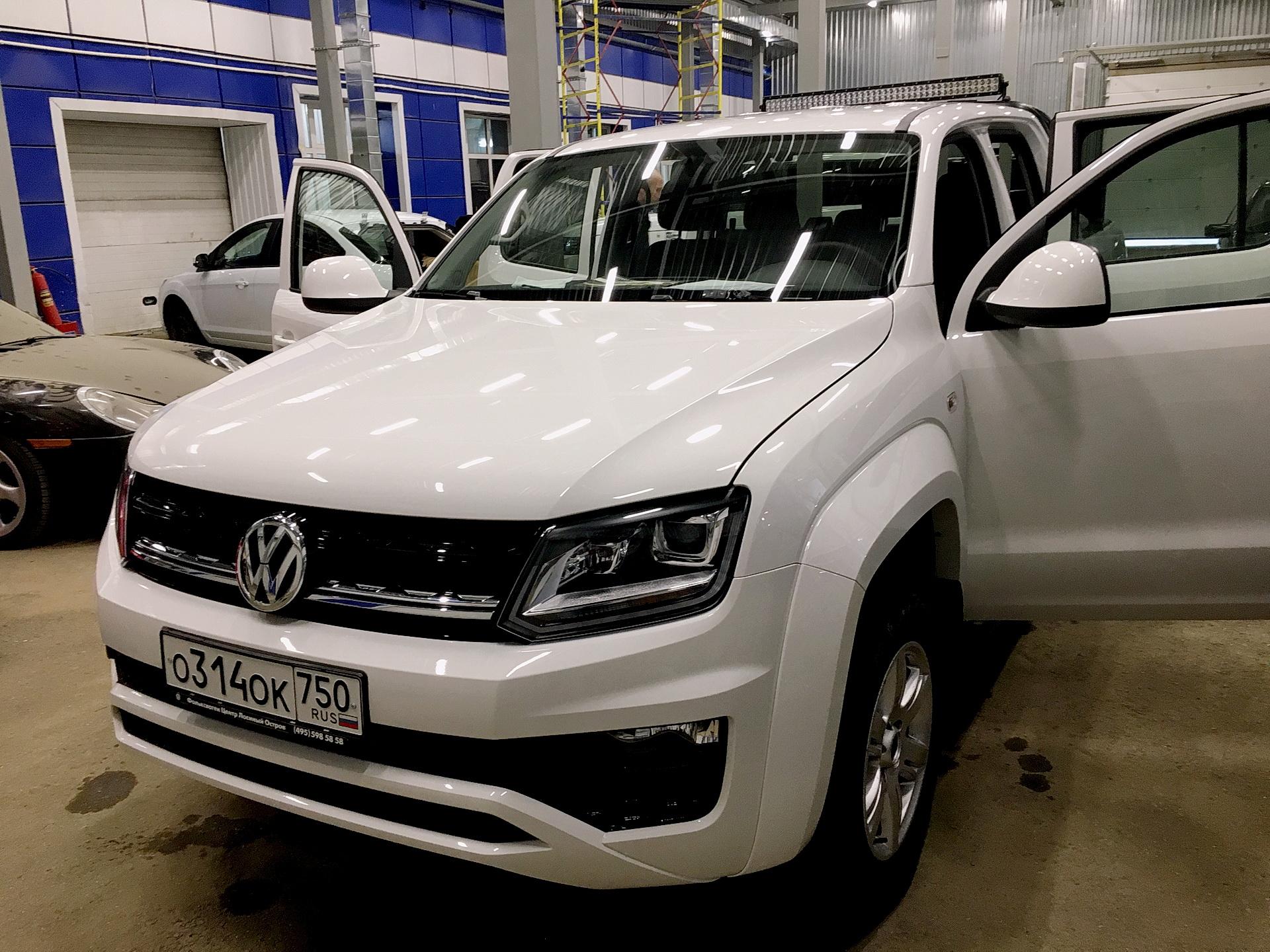 Установка дополнительного оборудования на VW Amarok 2016 года