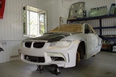 Vorsteiner на BMW E92 Coupe