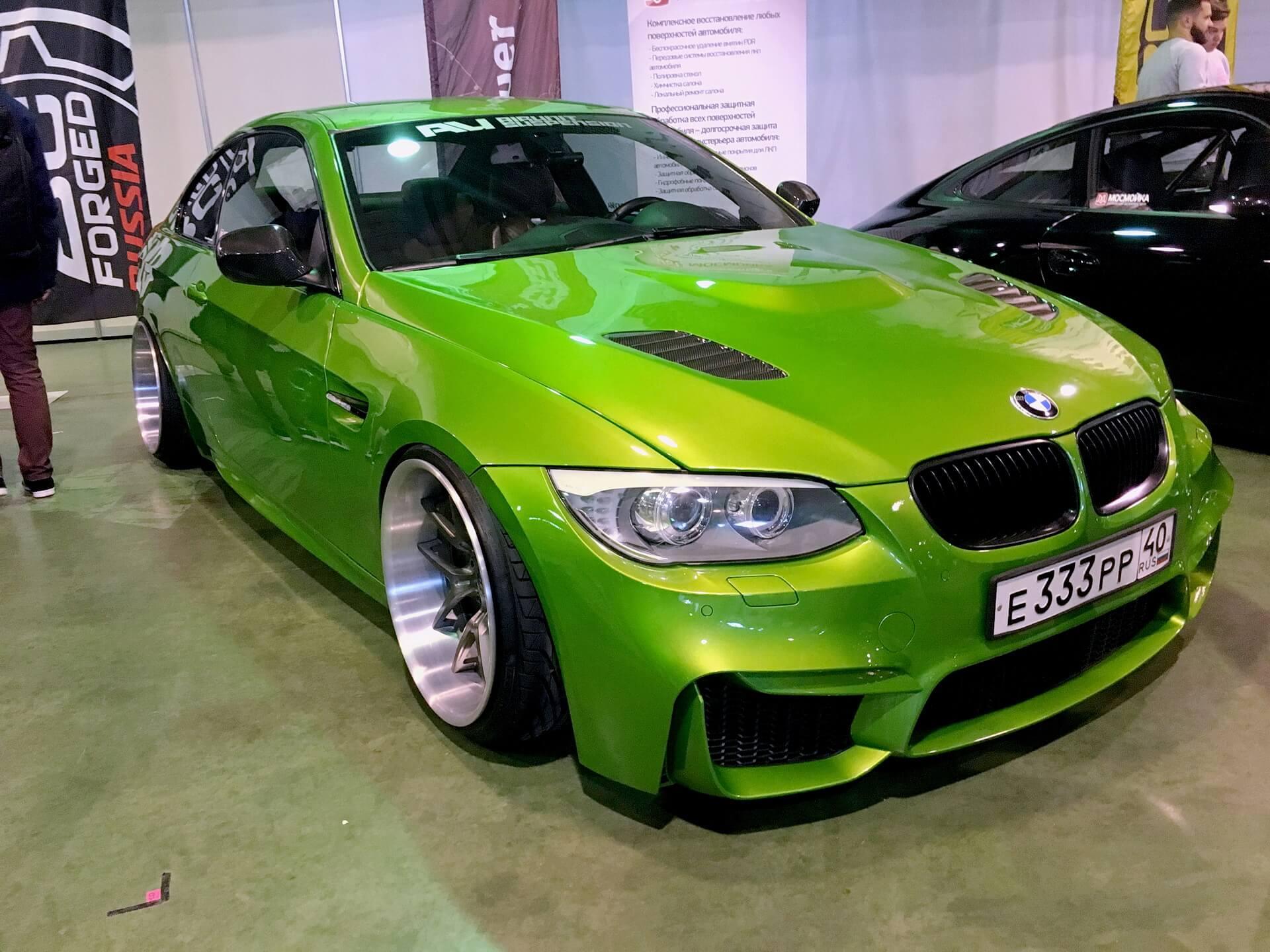 Зеленый цвет для бмв