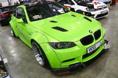 BMW Green apple